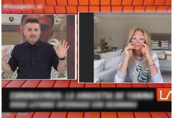 Yanina Latorre se quebró al hablar de la salud de su marido