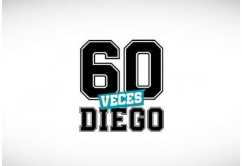 Construir TV presenta <i>60 veces Diego</i>
