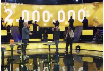 <i>Minuto para ganar</i> entregó 2 millones de pesos