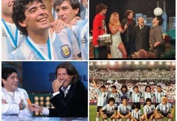 Canal Volver celebra el cumpleaños 61 de Diego Maradona